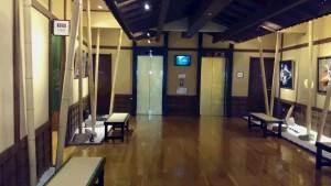 広々エレベータホール