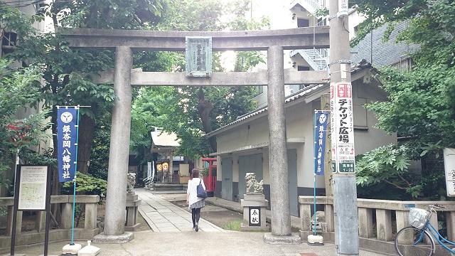銀杏丘八幡神社 浅草橋1