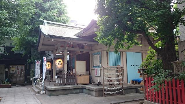 銀杏丘八幡神社 浅草橋4