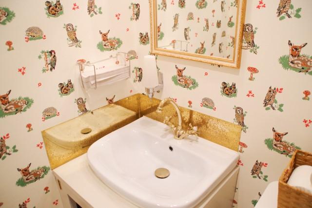マドレーヌラパンのトイレ