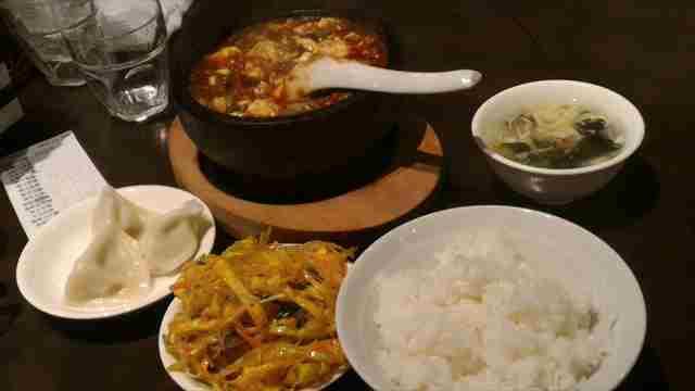 五反田、激辛、グルメ、麻婆豆腐、ランチ