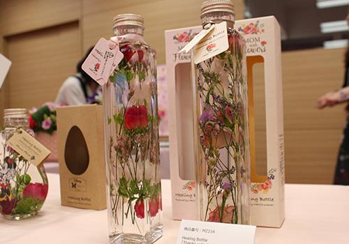 日比谷花壇 母の日 Healing Bottle「Thanks with Flowers」(2本セット)