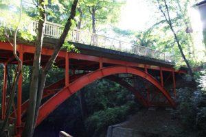 等々力渓谷入り口:メガネ橋