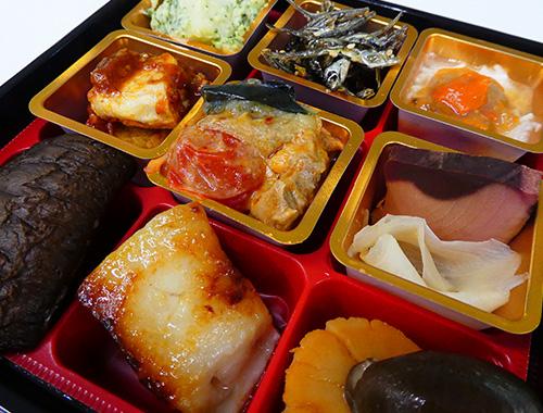 大丸・松坂屋のおせちの試食