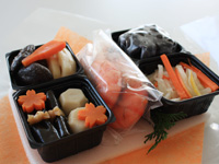 4種類のお試しおせちを試食しました!!:特製「セコムの食」の手作り和風おせち お試しセット2