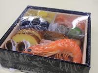 4種類のお試しおせちを試食しました!!:【博多久松2013】おためしおせち1