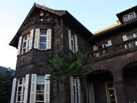 旧古河庭園のバラフェスティバル:洋館1